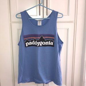 """SAE """"Paddygonia"""" Light Blue Tank"""